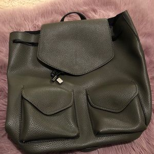 Zara Hunter Green Backpack 🌙
